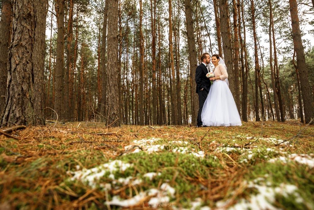 plener ślubny w listopadzie