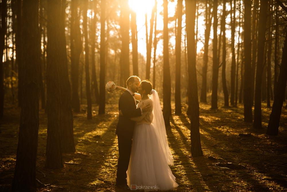 listopadowy plener ślubny w tarnobrzegu