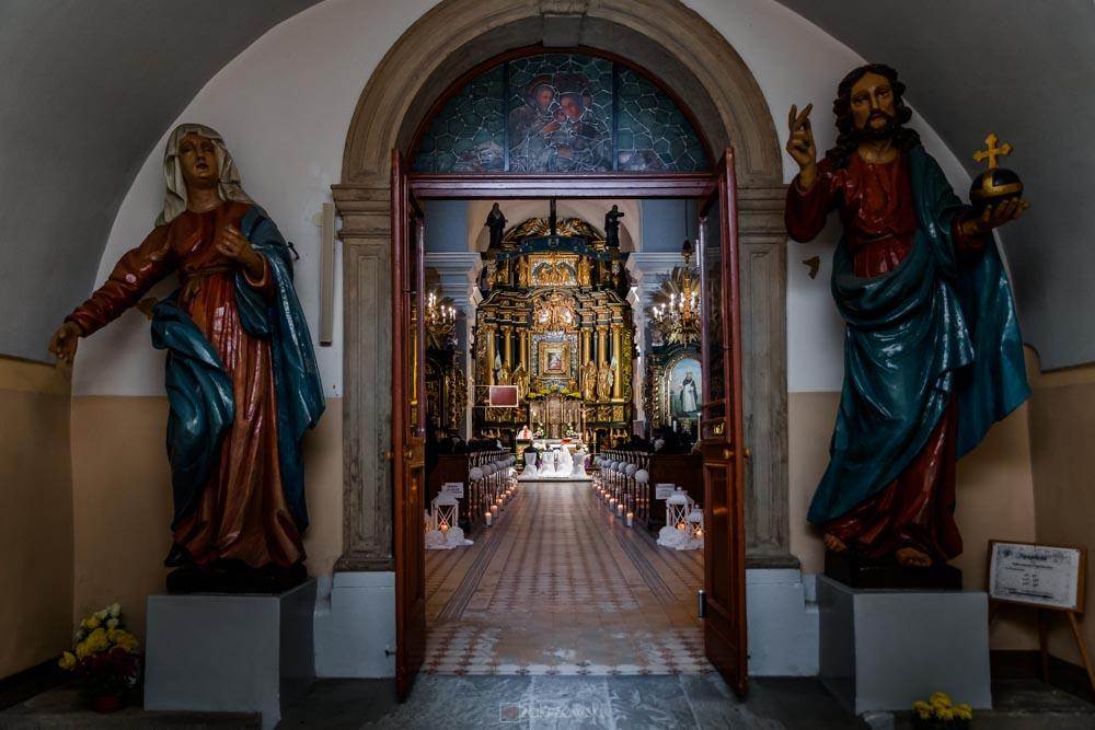 Fotografia ślubna Klasztor Dominikanów Tarnobrzeg