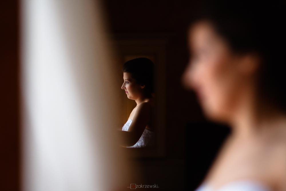 portret ślubny pani młodej