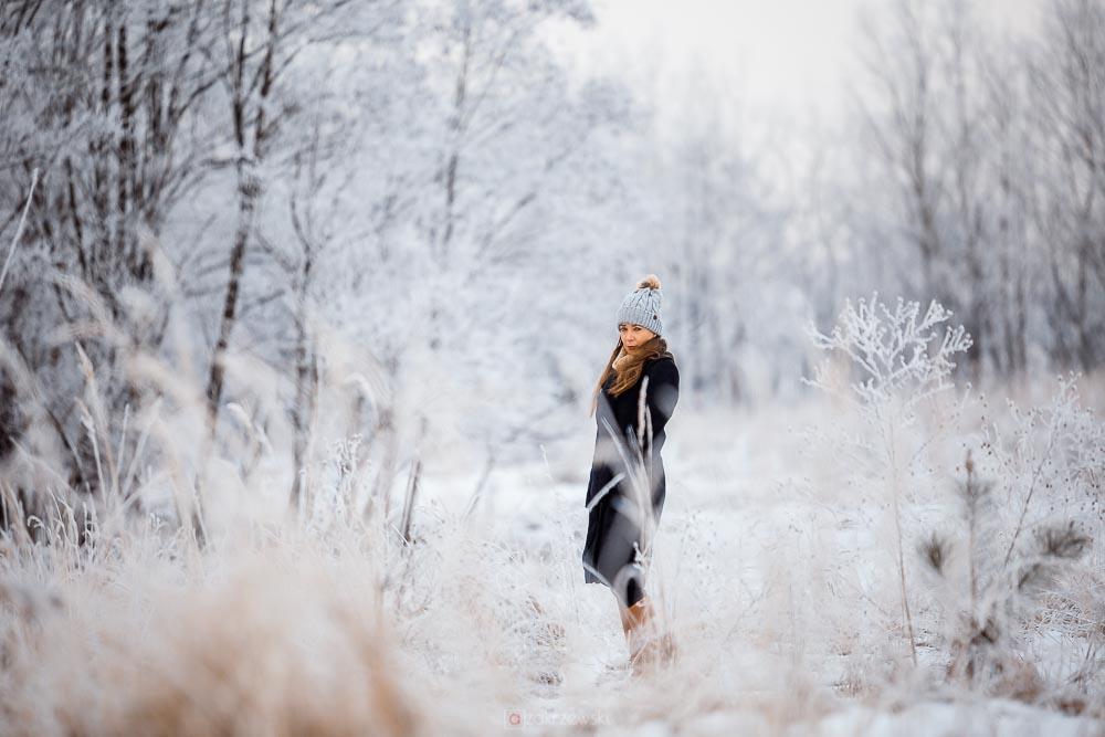 Styl, zima, mróz, zdjęcia, sesja, Tarnobrzeg
