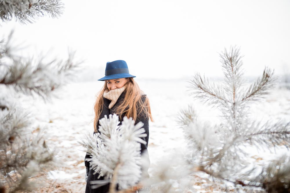 Sesja kobieca, fotograf Tarnobrzeg, zima